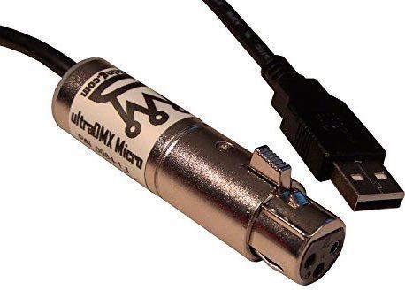 ultraDMX Micro, USB DMX controller