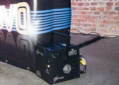 DJ Installatie Rook