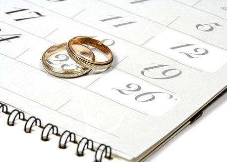 Huwelijksdatum plannen